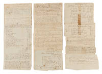 Deeds, Receipts, Estate Inventories and Other Legal Documents, 1780..