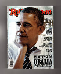 Rolling Stone - October 23, 2014. In Defense of Obama; Mick Jagger; Neil Young; Jackson Browne; Weezer; Julian Casablanca; Clay Aiken; Claire Danes; Michael Keaton; Where the Tea Party Rules