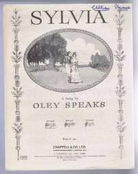 Sylvia, a song. No. 1 in E flat. No. 1414