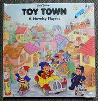 image of TOY TOWN:  A NOVELTY PLAYSET.  (PLAY SET.)