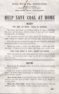 image of HELP SAVE COAL AT HOME.