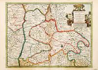 Carte du Gouvernment de Dalphine, by  Pieter van der AA - c1713-14 - from Peter Harrington (SKU: 66386)