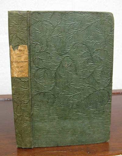 Philadelphia: Robert P. Desilver, Publisher, 1836. 1st edition (American Imprints 36933). Original p...