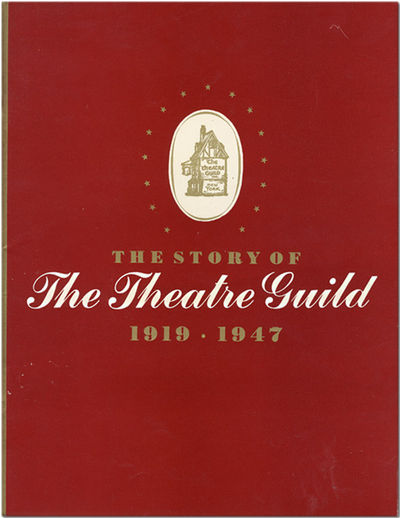 New York: The Theatre Guild, 1947. 47,pp. Quarto. Decorative stiff wrappers. Photographs and illustr...