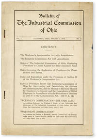 image of Bulletin of the Industrial Commission of Ohio. Vol. 1 no. 3 (August 1, 1914)