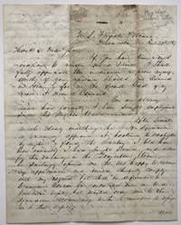 [Autograph Letter, Signed, from A.S. Baldwin to Chester Ashley Asking for a Naval Command during the Mexican-American War]