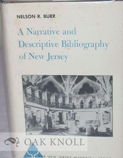 New York: D. Van Nostrand, 1964. cloth, dust jacket. New Jersey. 8vo. cloth, dust jacket. xxii, 266 ...