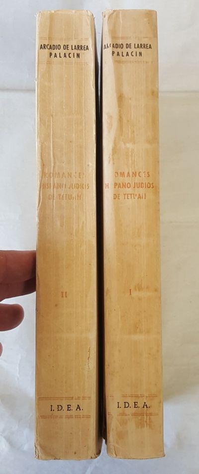 Madrid: Instituto De Estudios Africanos, 1952. First Edition. Softcover. Octavo; 2 volumes; VG- cond...