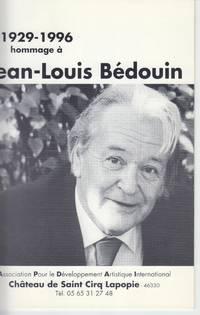 1929-1996 Hommage a Jean-Louis Bedouin