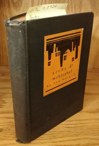 Garden City: Doubelday, Doran & Company, 1928. Hardcover. Octavo; G-/no DJ; Hardcover w/out DJ; Spin...