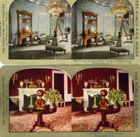 2 turn of the century White House Stereoview