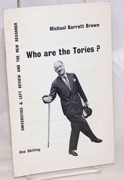 London: Universities & Left Review and The New Reasoner, 1959. Pamphlet. 23p., 5.25x8.25 inches, sta...