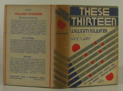 Jonathan Cape, 1931. 1st Edition. Hardcover. Very Good/Very Good. Very good in a very good dust jack...