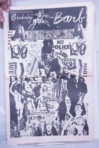 image of Berkeley Barb: vol. 5, #18 (#116) November 3-9, 1967: Peace Not Police