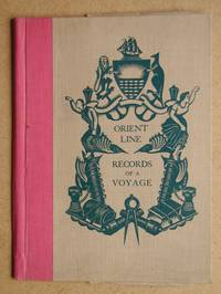 image of Orient Line: Records of a Voyage Folder.