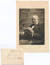 Signature and Inscription / Unsigned Photograph