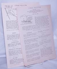 image of Strike Bulletin [two issues],  August 11th, 1937 and August 12th, 1937