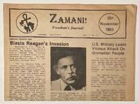 image of Zamani! Freedom's Journal. Vol. 2 no. 2 (November 1983)