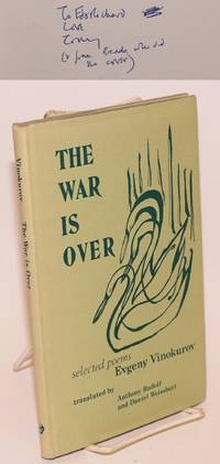 The war is over; poems