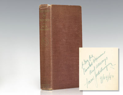 New York: McGraw-Hill Book Company, 1940. First edition of the autobiography of the most popular hea...