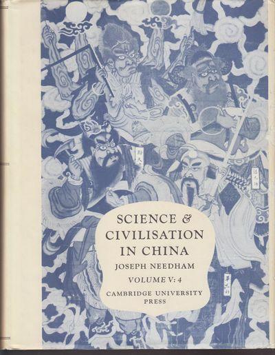 Cambridge: Cambridge University Press. 1980. First Edition; First Printing. Hardcover. Black cloth b...