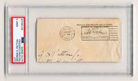 George Patton WWII Sig and FF PSA Slabbed & Graded Mint 9!