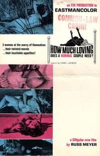 RUSS MEYER (1967, 68) Set of 2 pressbooks