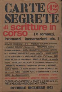 CARTE SEGRETE DI SCRITTURE IN CORSO
