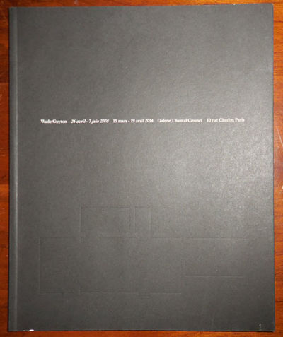 Paris: Galerie Chantal Crousel, 2015. First edition. Paperback. Fine. Paperbound quarto with French ...