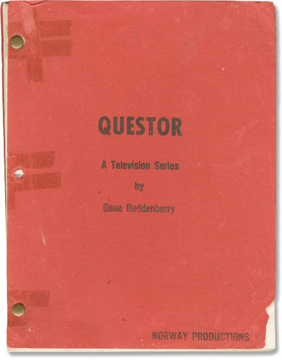 N.p.: Norway Productions, 1972. Draft script for the 1974 television film, a serious sci-fi obscurit...