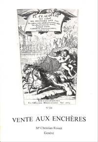 Vente 19, 20 & 21 Octobre 1977: Livres Illustrés Modernes, Livres Anciens  et Modernes, Livres d'Art, Livres pour la Jeunesse, Livres Allemands et  Anglais.