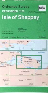 Isle of Sheppey Pathfinder map sheet 1179