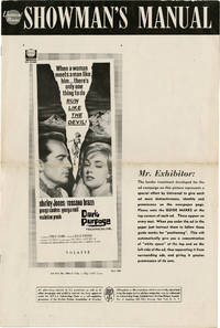 Dark Purpose (Original pressbook for the 1964 film)