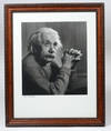View Image 2 of 3 for Portrait Photograph of Albert Einstein, signed by Yousuf Karsh Inventory #2327