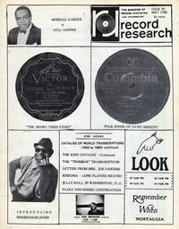 Record Research: The Magazine of Record Statistics and Information, Issue 90, May 1968