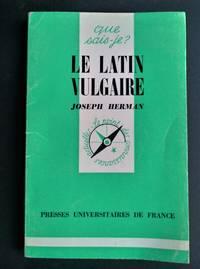 Le Latin Vulgaire