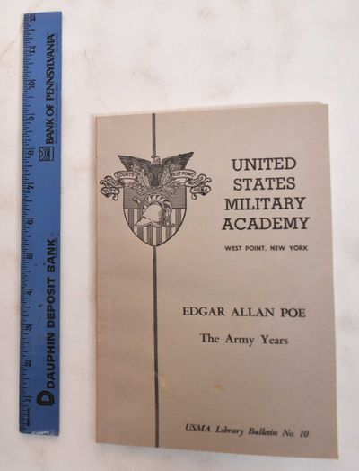 West Point, New York: U.S. Military Academy, 1972. Softcover. VG (light wear and soiling to front co...