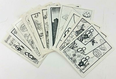 Published by author, 1985. Rubber stamp minicomic created by Matt Levin; FN/VF; mild to moderate rus...