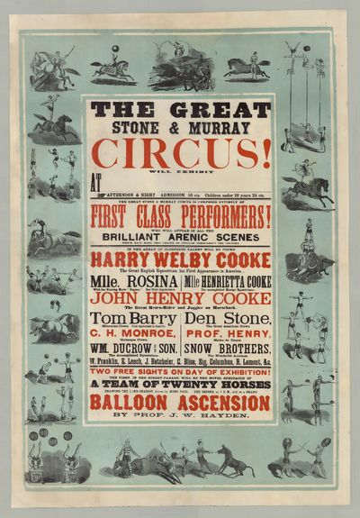 The Great Stone & Murray Circus Will...