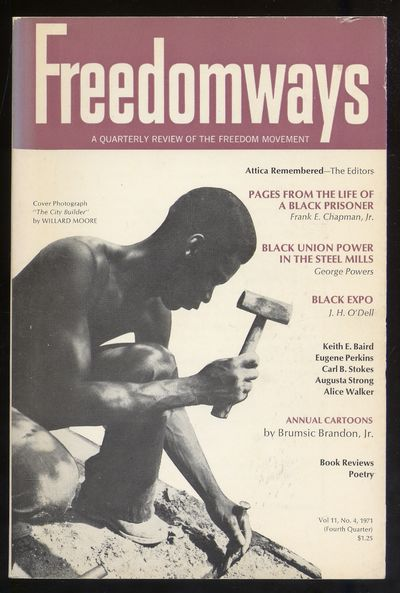 New York: Freedomways Associates, Inc, 1971. Softcover. Very Good. First edition, volume 11, number ...