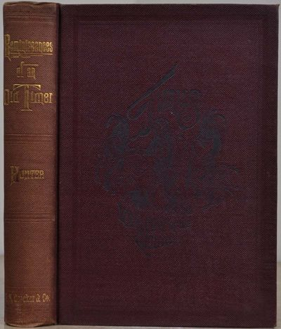 San Francisco, CA: H.S. Crocker Company, 1887. Book. Very good+ condition. Hardcover. First Edition....