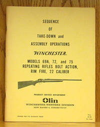 Sequence of Take-down and Assembly Operations Winchester Models 69A, 72, and 75 Repeating Rifles Bolt action, Rim Fire, 22 Caliber