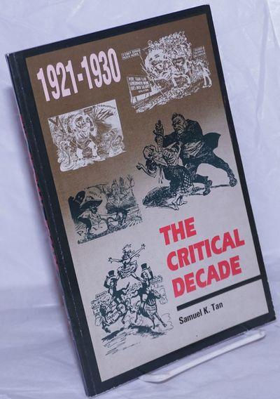 Quezon City, Philippines: CSSP Publications, 1993. Paperback. 116p., wraps, 6x9 inches, wraps worn e...