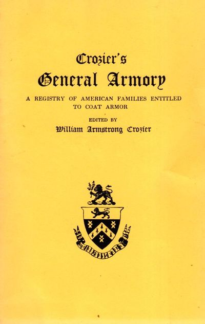 Baltimore: Reprinted for Clearfield Company by Genealogical Publishing Co., Inc, 1996. Reprint. Soft...