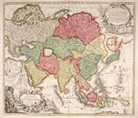 Recentissima Asiae Delineatio, Qua Status et Imperia Totius Orientis unacum Orientalibus Indiis exhibentur..