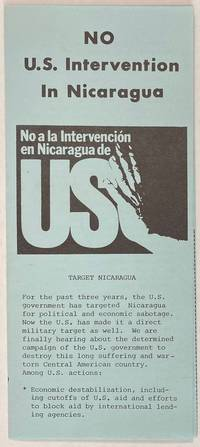 image of No US intervention in Nicaragua
