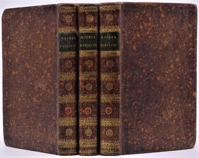 London: G. G. and J. Robinson, 1800. Three volumes in contemporary mottled calf, black morocco title...