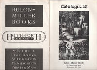 image of Catalogue 77 and  81