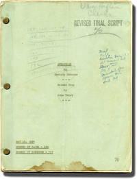 Annapolis Salute (Original screenplay for the 1937 film, Van Heflin's working copy)