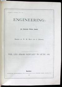 Engineering: An Illustrated Weekly Journal. Vol. LXI. From January to June, 1896